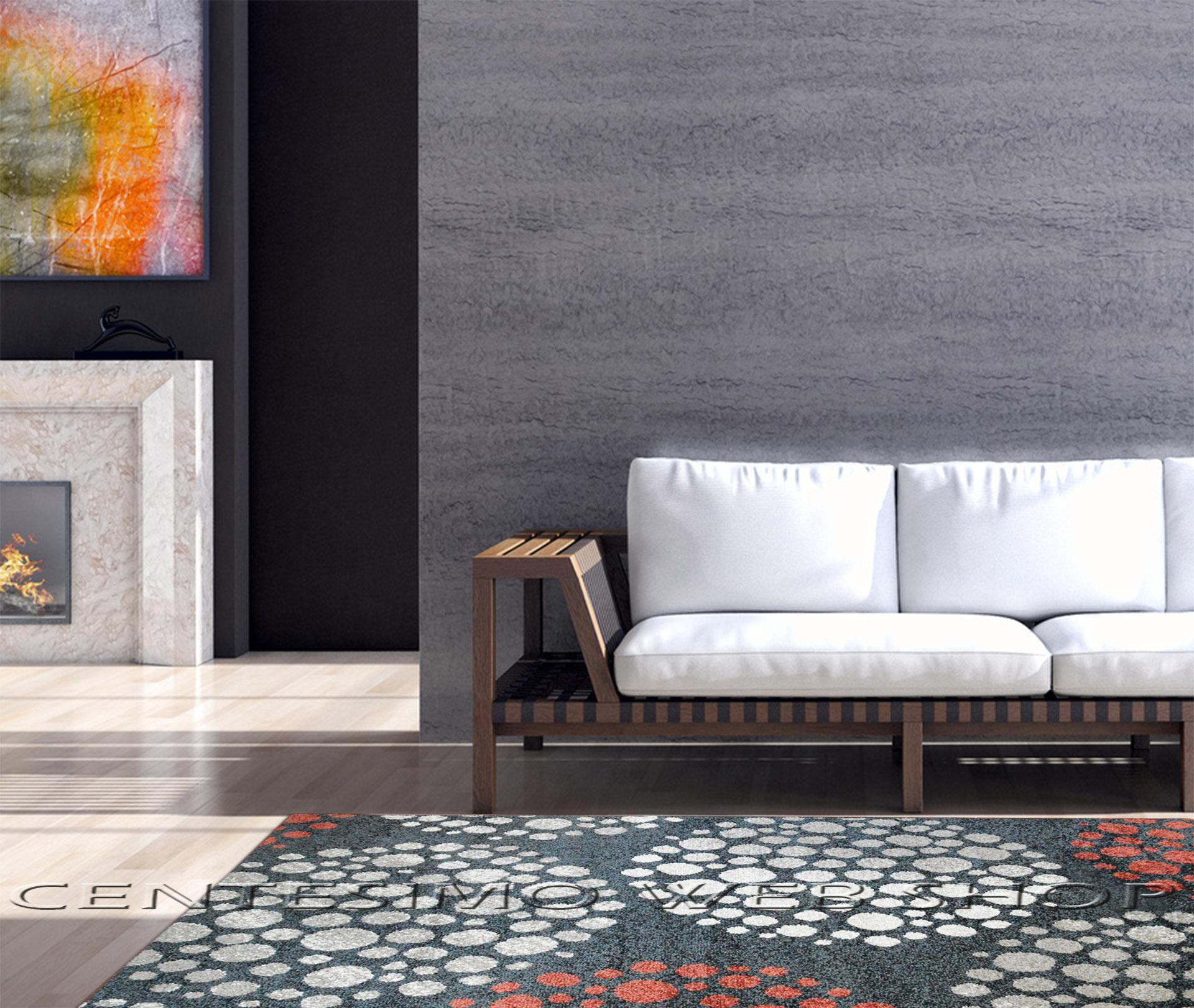 Camerette design ragazzi - Tappeto moderno grigio ...