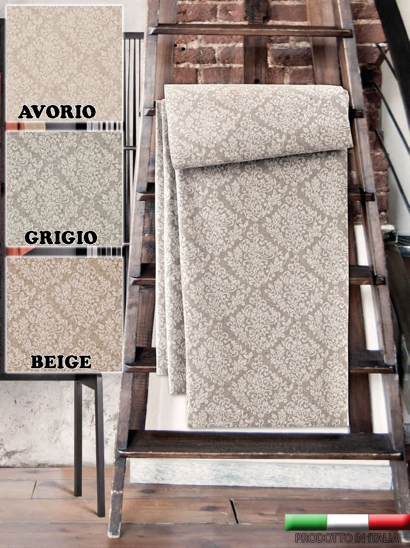 Telo arredo copritutto jacquard prodotto italia multiuso - Telo copri divano ...