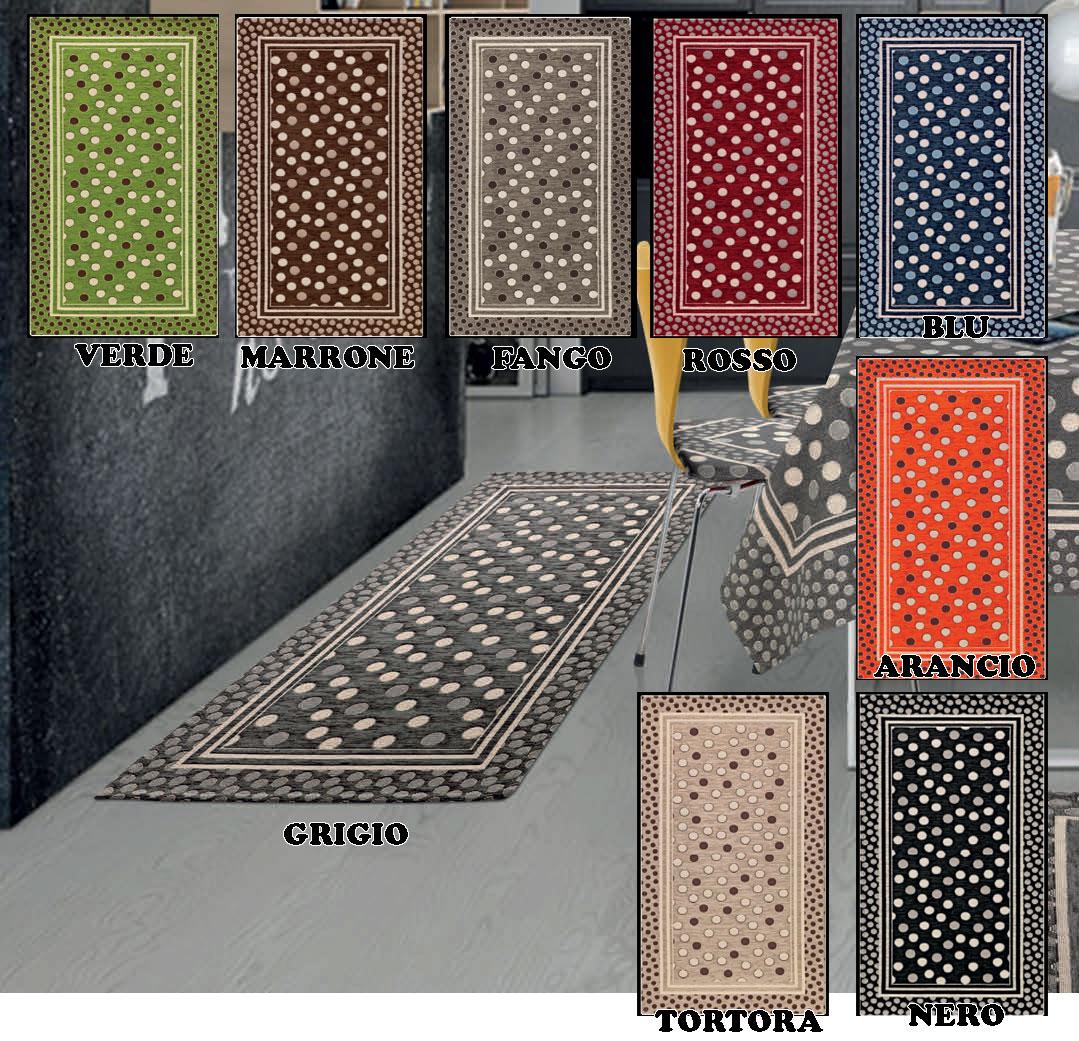 Tappeto cucina in 6 misure 9 colori passatoia tappetino - Tappetino cucina ...