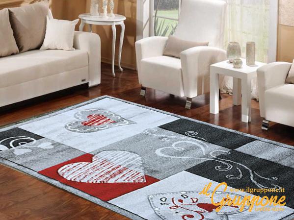Tappeto bianco salotto u idee per la casa