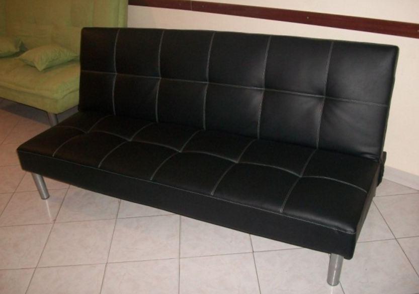 Divano letto divanoletto similpelle divani prontoletto consegna immediata ebay - Divano letto prontoletto ...