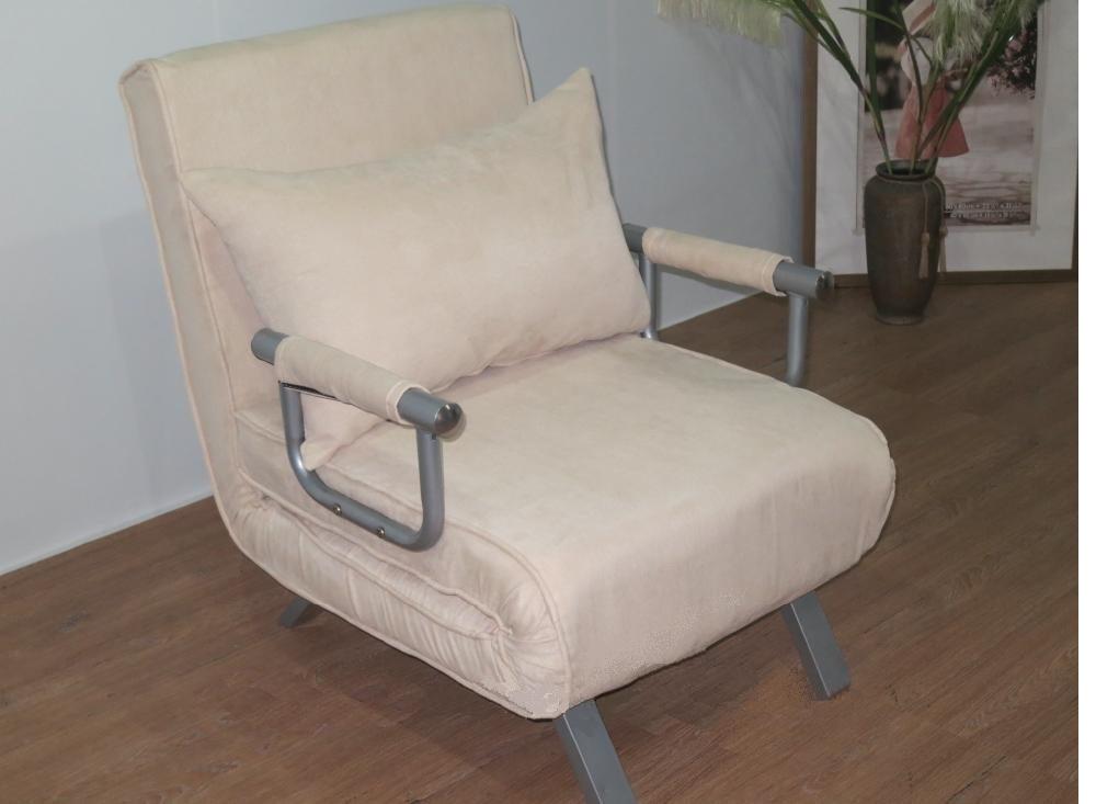 Poltrona divano letto divanoletto sofa bed microfibra for Poltrona letto ebay