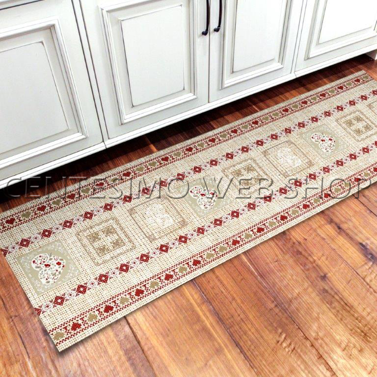 Tappetini cucina stile cane pittura stampa tappeti - Tappetini per bagno ...