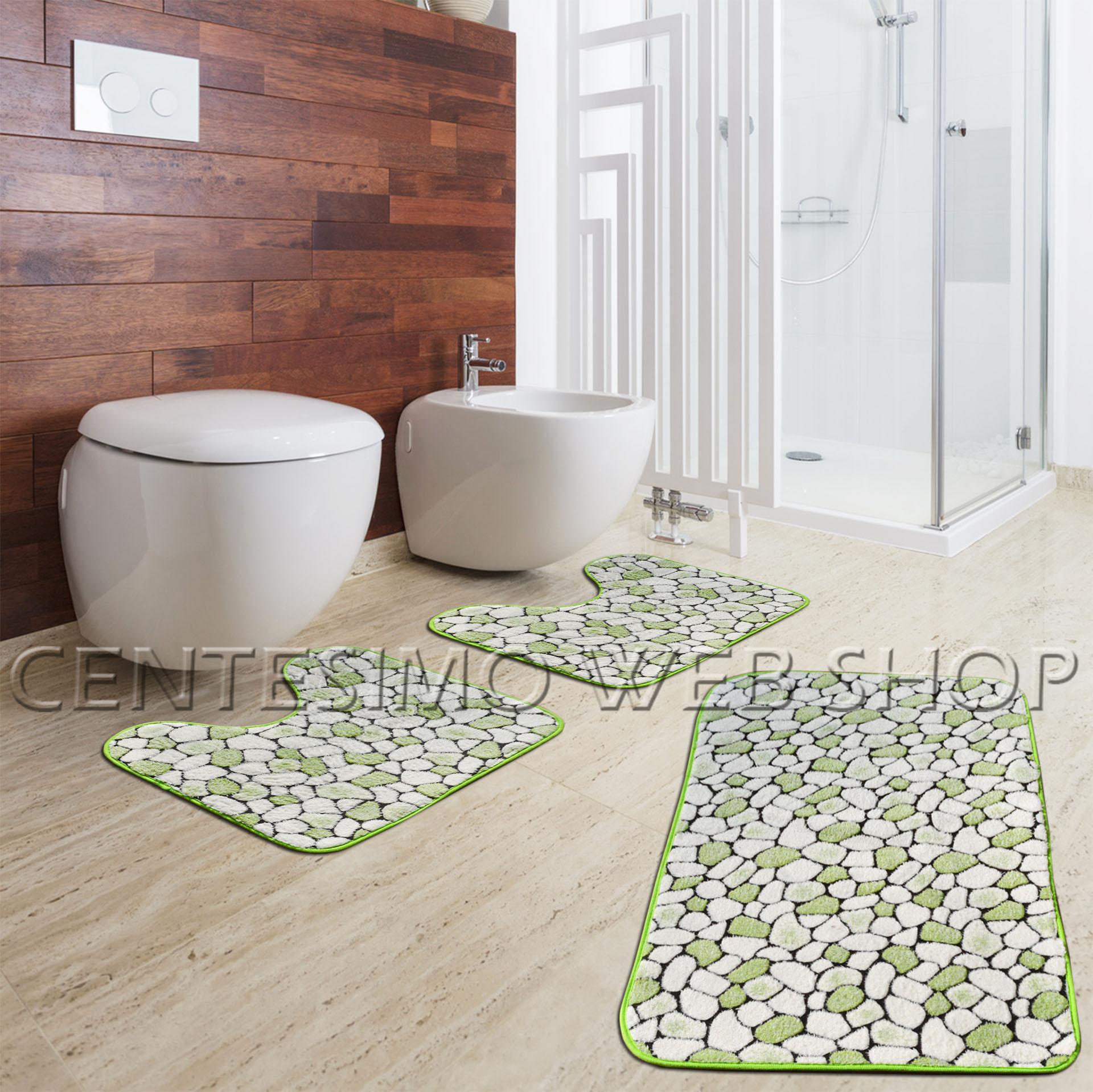 Tappeto verde bagno casamia idea di immagine - Paracchi tappeti bagno ...