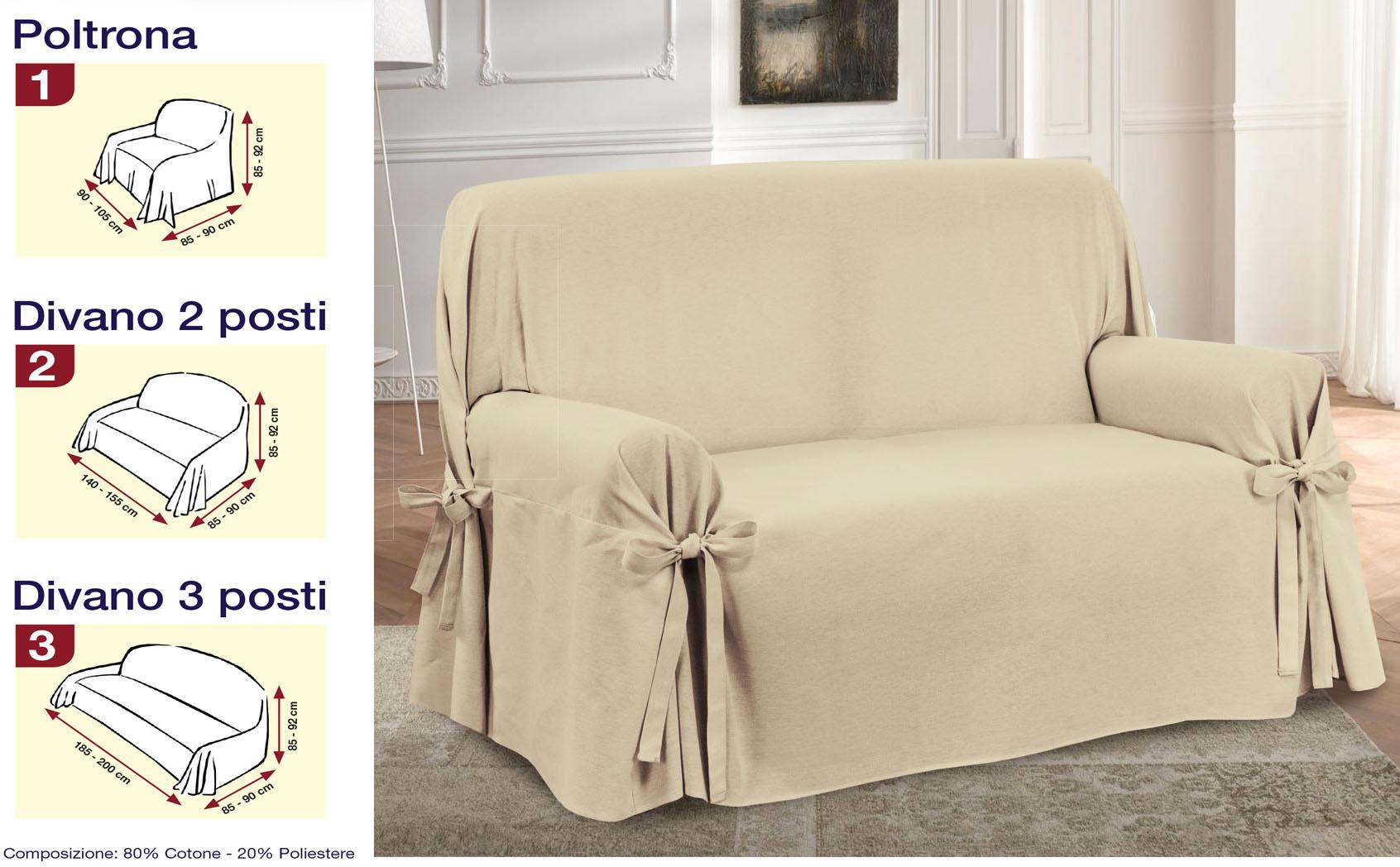 Copridivano 3 misure jacquard rosso copripoltrona laccetti - Misure divano tre posti ...