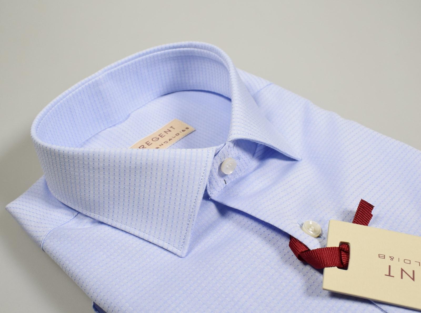 Camicia REGUL FIT collo Italiano cotone popeline classica uomo