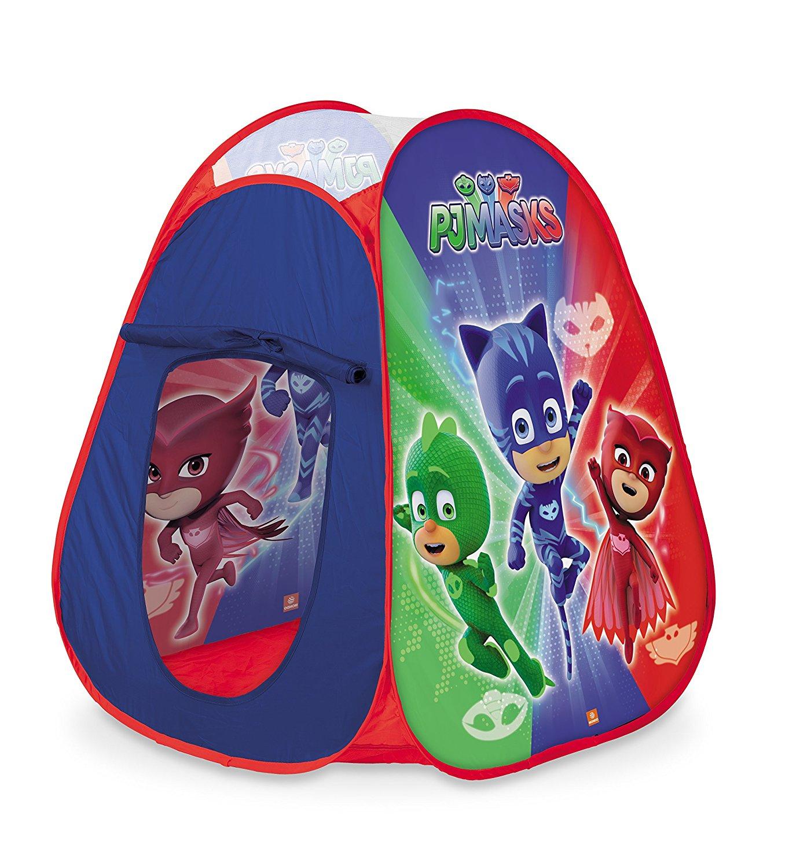 Tenda Gioco Bambini Pj Mask Super Pigiamini Casetta Tessuto Pieghevole Pop-Up