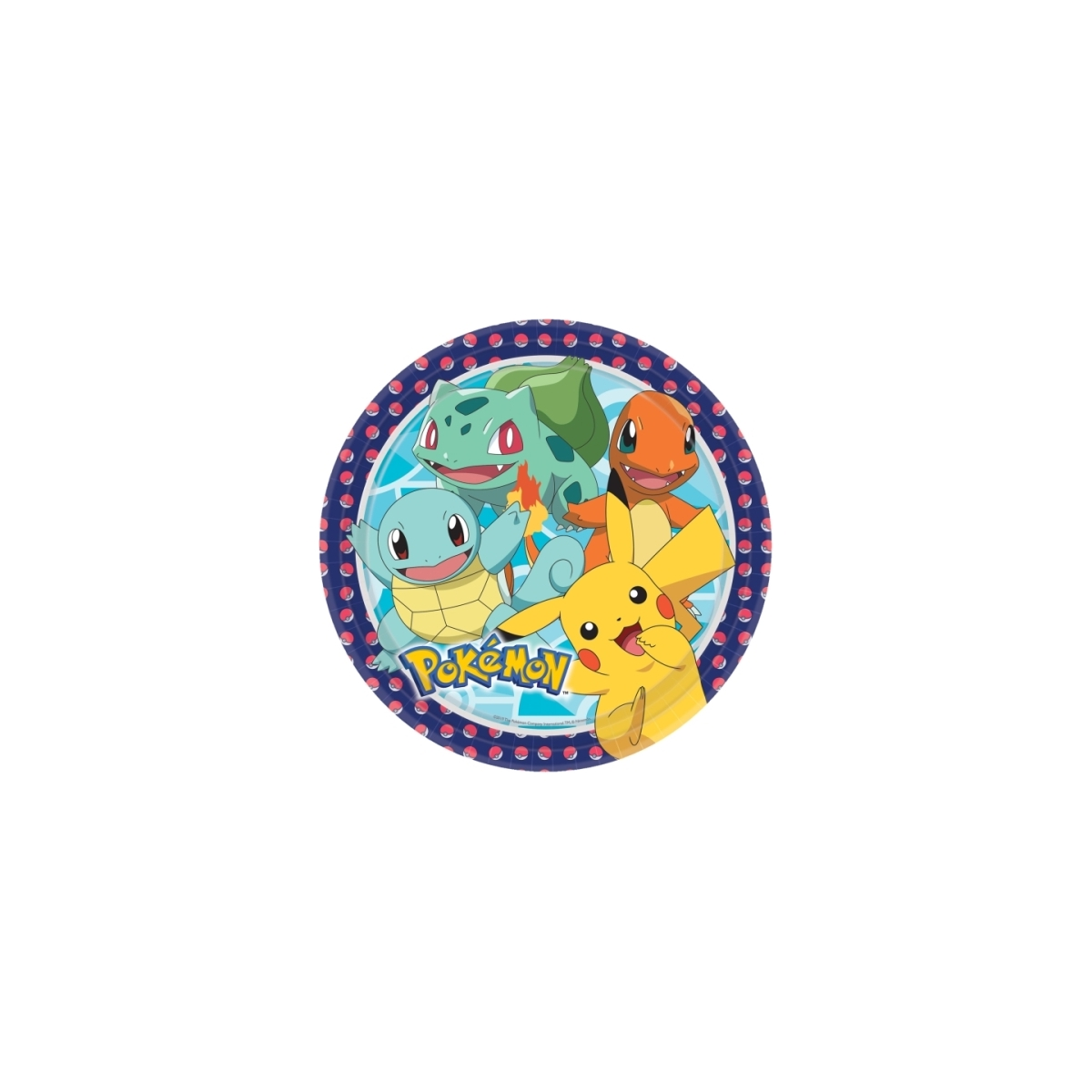 Irpot Kit n.49 Coordinato Tavola Pokemon Addobbi Festa