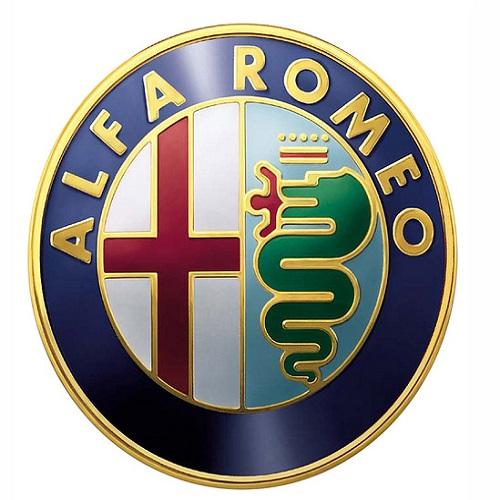 Frieze Crest Logo alfa romeo 147 156 159 mito giulietta gt front