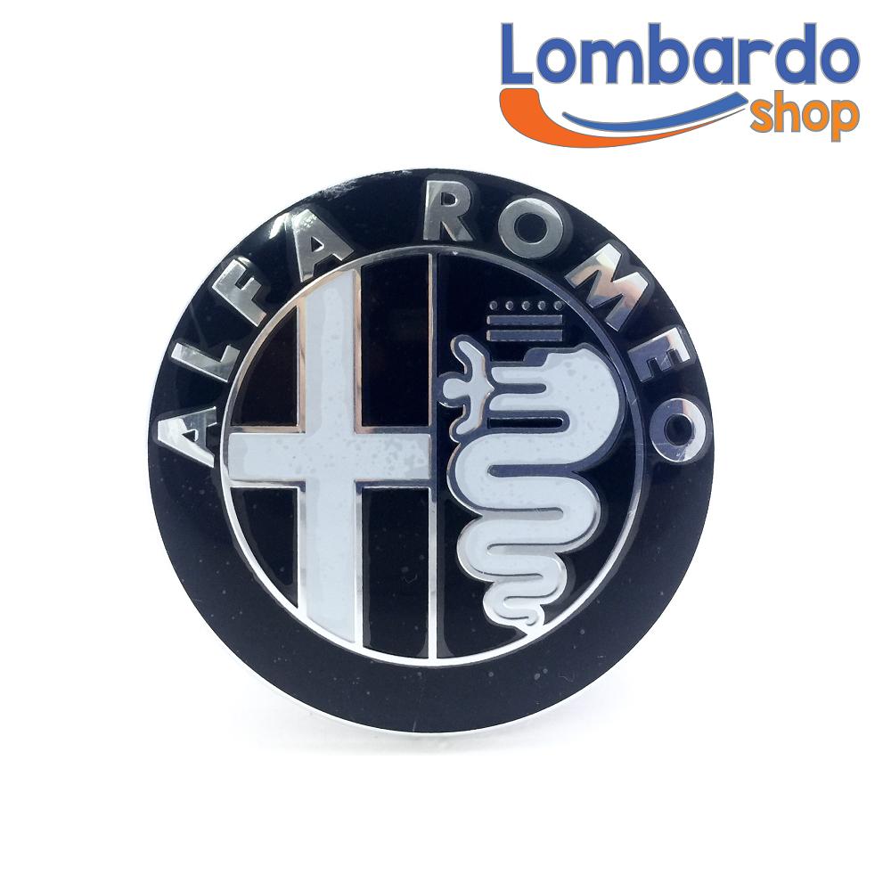 fregio stemma logo alfa romeo 147 156 159 mito giulietta gt anteriore adesivo ebay. Black Bedroom Furniture Sets. Home Design Ideas