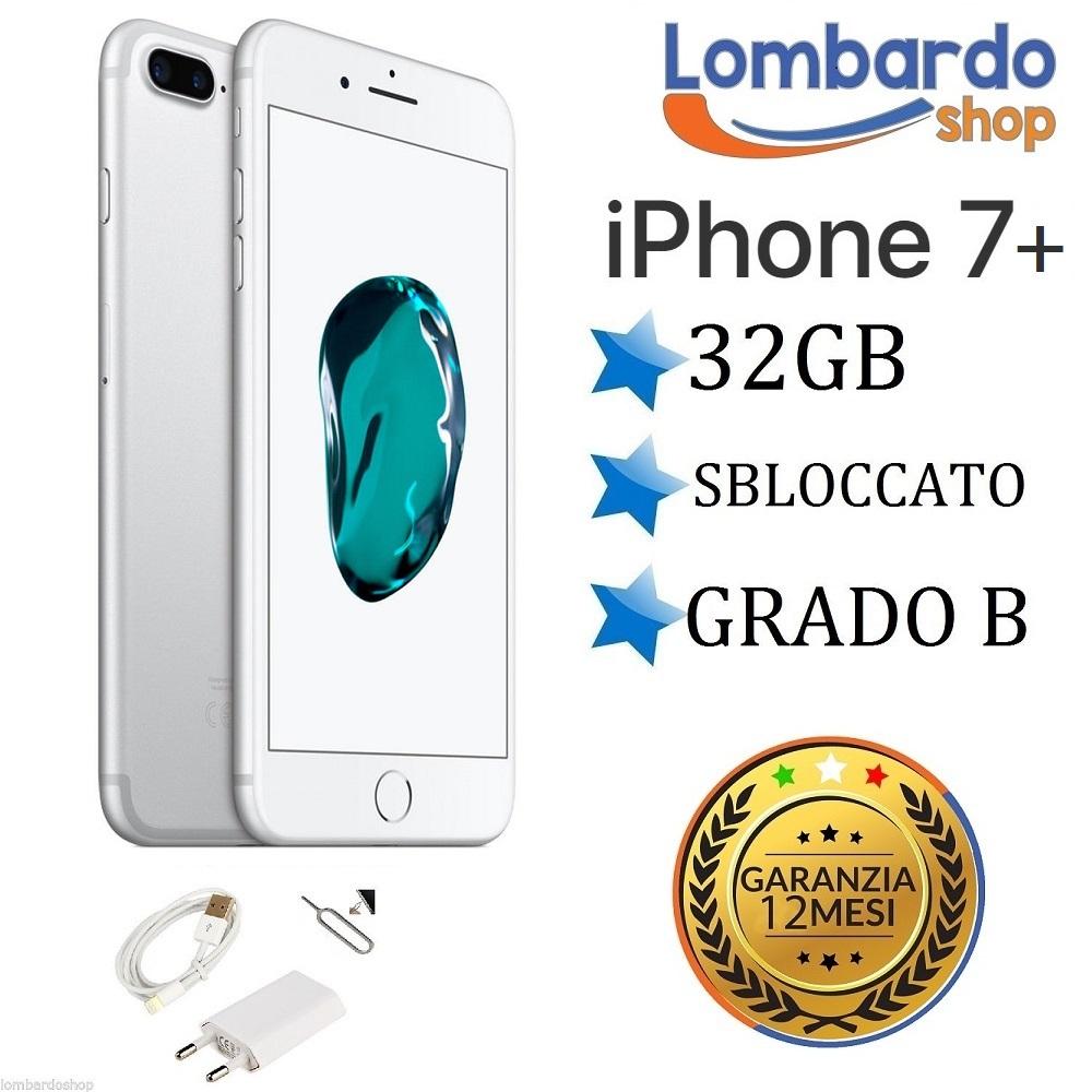 iphone 7 plus remis neuf 32 go niveau b blanc original apple r g n r ebay. Black Bedroom Furniture Sets. Home Design Ideas