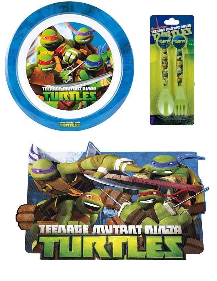 Set 4 Tovagliette Tartarughe Ninja
