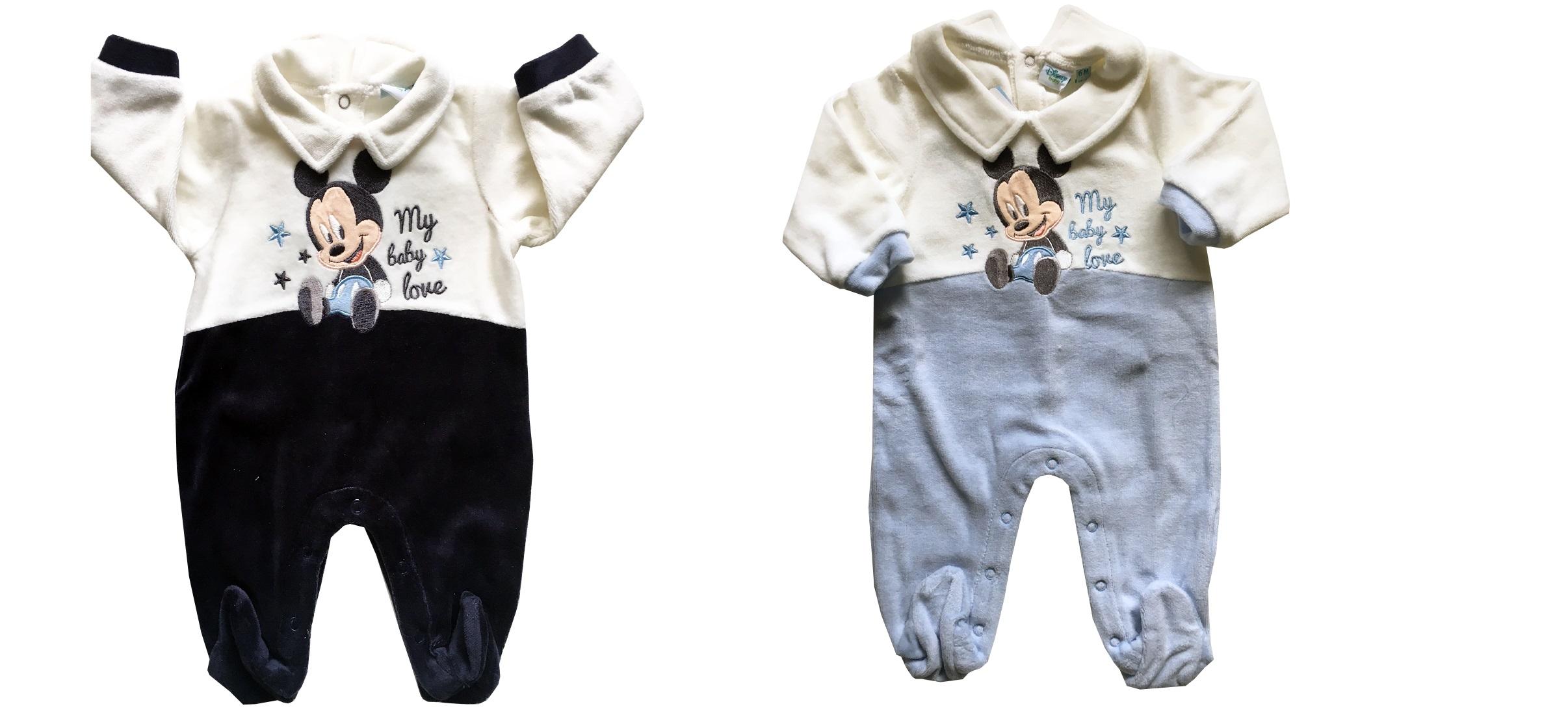 5c5e6e57b5b1cc TUTINA CINIGLIA TOPOLINO BABY DISNEY CALDO COTONE PIEDINO 44804 NAVY ...