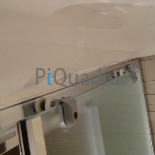 Box doccia 3 lati scorrevole e anta fissa in cristallo 6 mm trasparente o opaco ebay - Piatto doccia 70x85 ...
