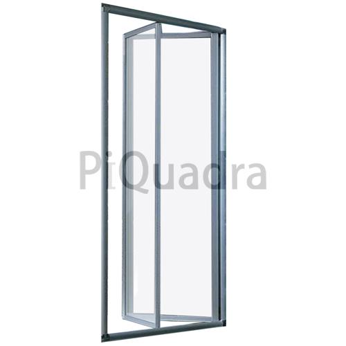 Box doccia nicchia porta pieghevole libro soffietto da 68 - Porta doccia pieghevole ...
