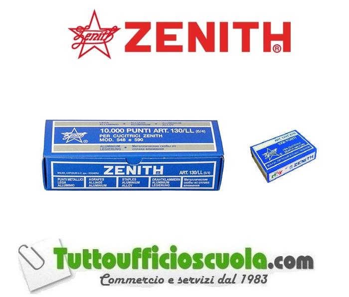 ZENITH 130//E bis punti metallici passo 6//4 sc.da 5000 punti