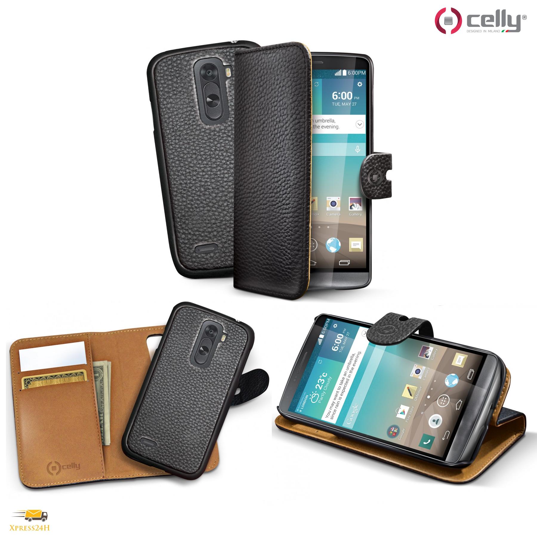 CELLY Custodia a portafoglio con cover staccabile per iPHONE 5/5S