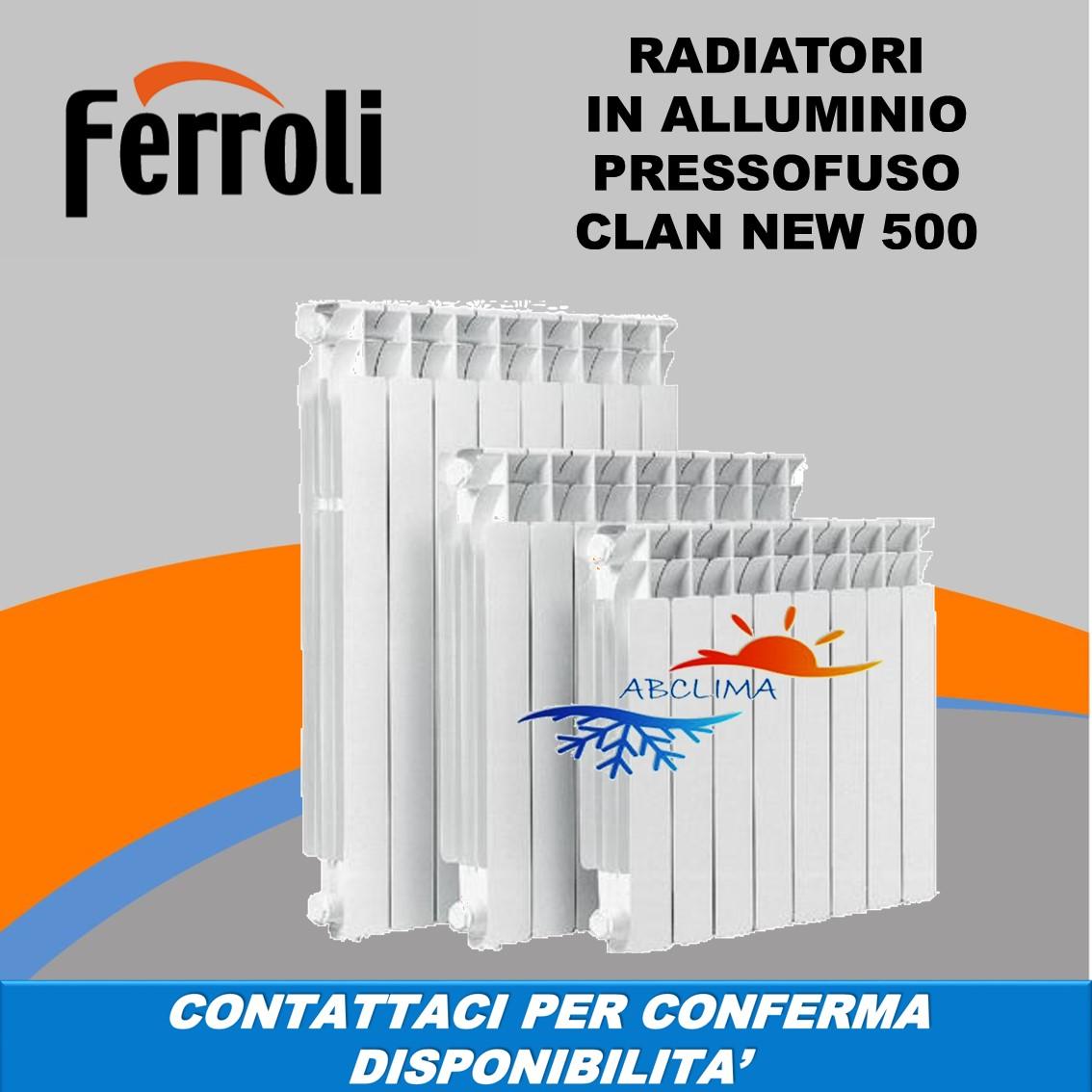 Elementi radiatori termosifoni in alluminio pressofuso for Radiatori ghisa ferroli